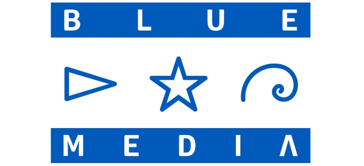 bluemedia logotyp